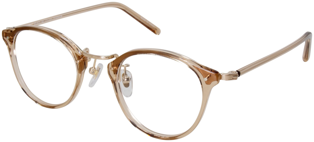 col.5:Clear-brown/Gold